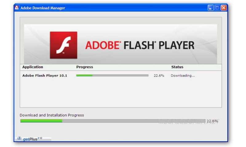После обновления плеера перезапустите браузер.
